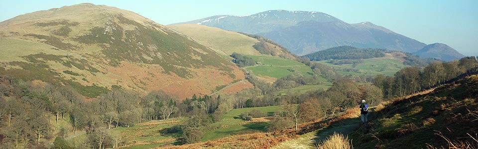 Wythop Valley - a favourite of Wainwright's