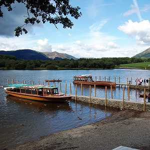 Launches on Derwentwater in Keswick